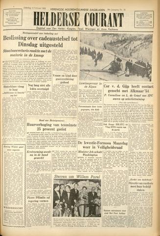 Heldersche Courant 1955-02-12