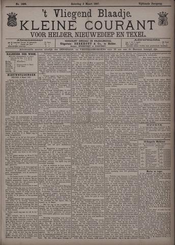 Vliegend blaadje : nieuws- en advertentiebode voor Den Helder 1887-03-05
