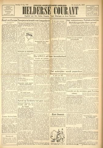 Heldersche Courant 1949-08-13