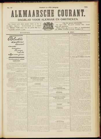 Alkmaarsche Courant 1909-05-18