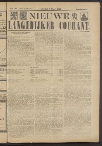 Nieuwe Langedijker Courant 1922-03-07
