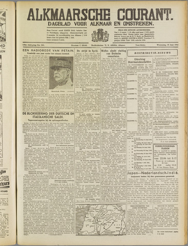 Alkmaarsche Courant 1941-06-18