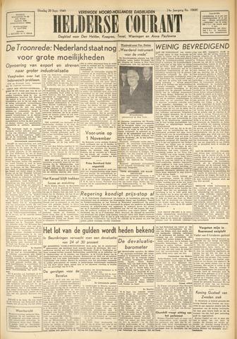 Heldersche Courant 1949-09-20