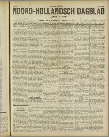 Ons Blad : katholiek nieuwsblad voor N-H 1922-03-22