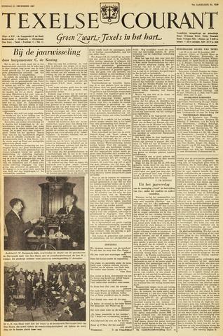 Texelsche Courant 1957-12-31
