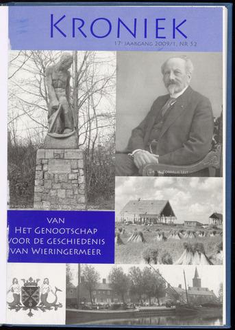 Kroniek Historisch Genootschap Wieringermeer 2009