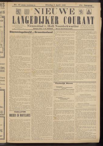 Nieuwe Langedijker Courant 1928-04-03