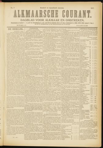 Alkmaarsche Courant 1917-01-09