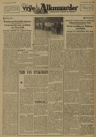 De Vrije Alkmaarder 1947-06-16