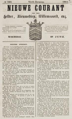 Nieuwe Courant van Den Helder 1864-06-29