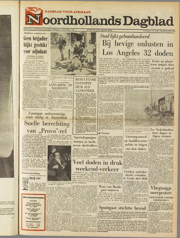 Noordhollands Dagblad : dagblad voor Alkmaar en omgeving 1965-08-16