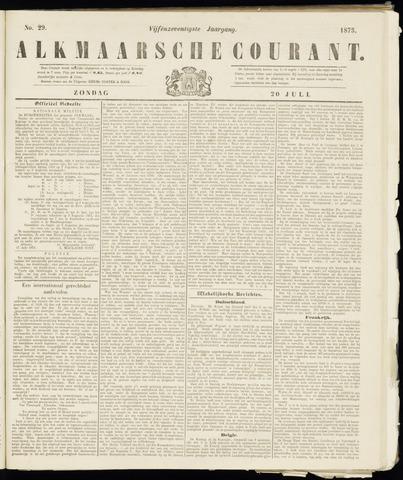 Alkmaarsche Courant 1873-07-20
