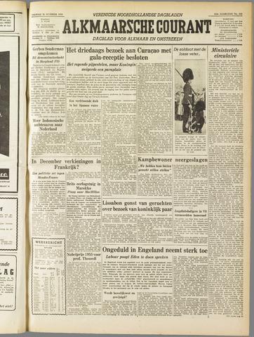 Alkmaarsche Courant 1955-10-21