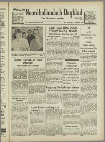 Nieuw Noordhollandsch Dagblad : voor Alkmaar en omgeving 1946-11-25