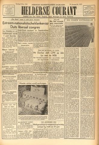 Heldersche Courant 1952-11-22