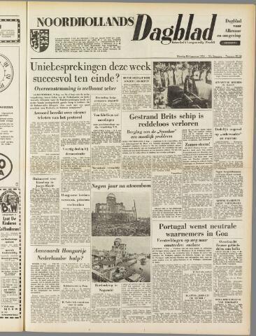Noordhollands Dagblad : dagblad voor Alkmaar en omgeving 1954-08-10