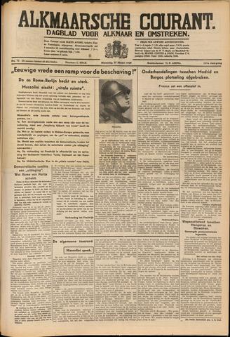 Alkmaarsche Courant 1939-03-27