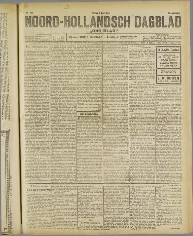 Ons Blad : katholiek nieuwsblad voor N-H 1922-06-02