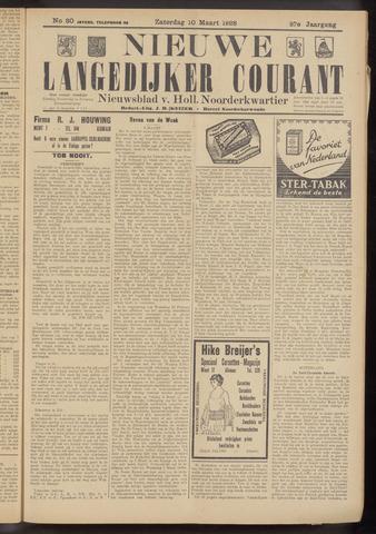Nieuwe Langedijker Courant 1928-03-10