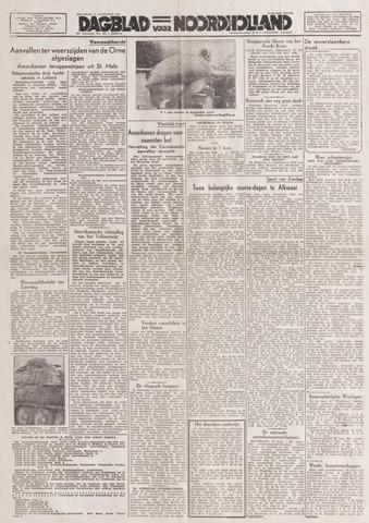 Dagblad Noord-Holland, Schager editie 1944-08-14