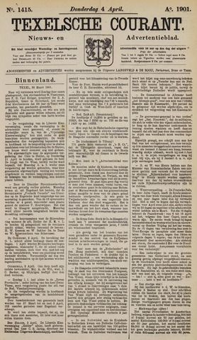 Texelsche Courant 1901-04-04