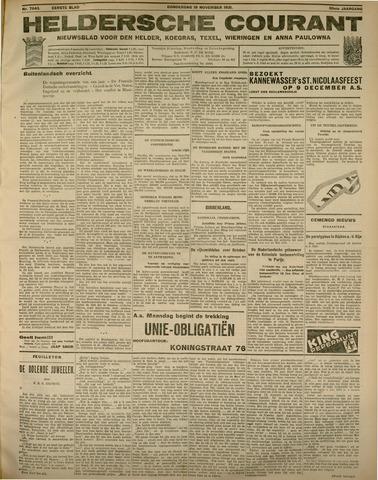 Heldersche Courant 1931-11-19