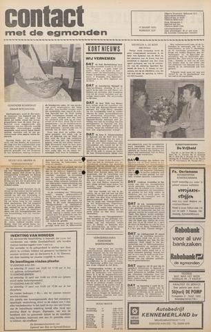 Contact met de Egmonden 1976-03-17