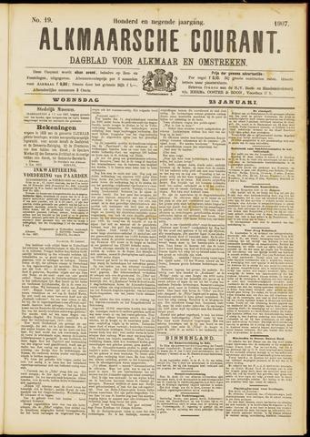Alkmaarsche Courant 1907-01-23