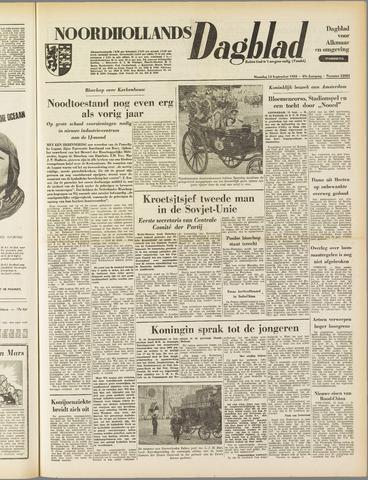 Noordhollands Dagblad : dagblad voor Alkmaar en omgeving 1953-09-14