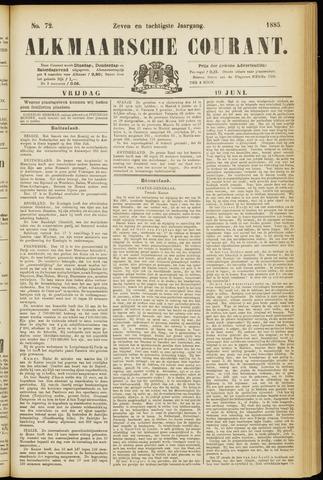 Alkmaarsche Courant 1885-06-19