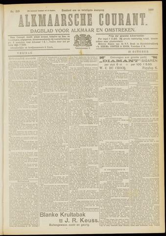 Alkmaarsche Courant 1919-10-10