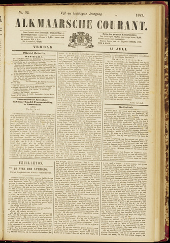 Alkmaarsche Courant 1883-07-13