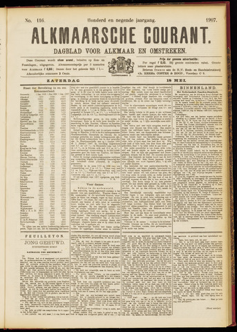 Alkmaarsche Courant 1907-05-18