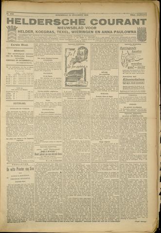 Heldersche Courant 1925-12-24