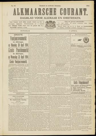 Alkmaarsche Courant 1914-04-07