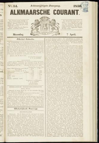 Alkmaarsche Courant 1856-04-07