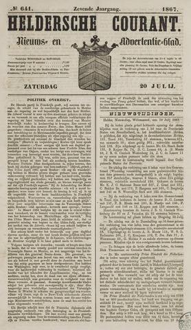 Heldersche Courant 1867-07-20