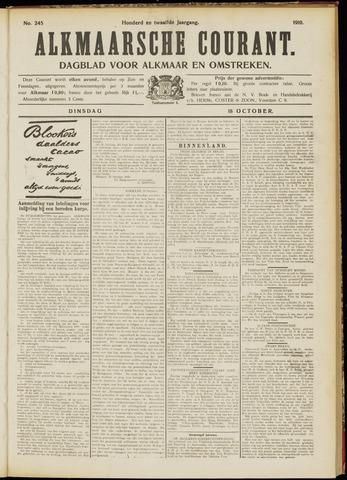 Alkmaarsche Courant 1910-10-18