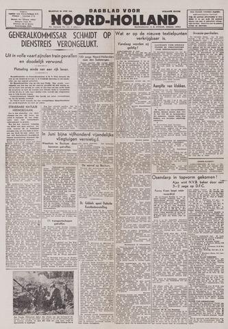 Dagblad Noord-Holland, Schager editie 1943-06-28