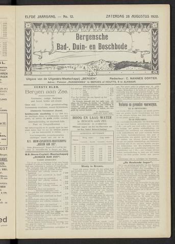 Bergensche bad-, duin- en boschbode 1920-08-28