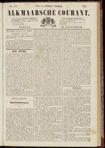 Alkmaarsche Courant 1881-09-25