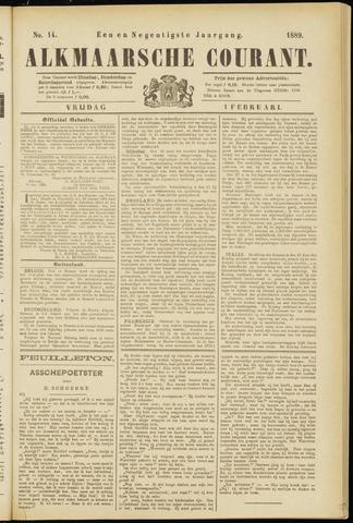 Alkmaarsche Courant 1889-02-01