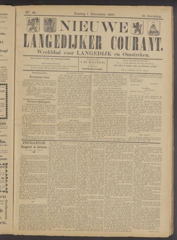 Nieuwe Langedijker Courant 1895-12-01