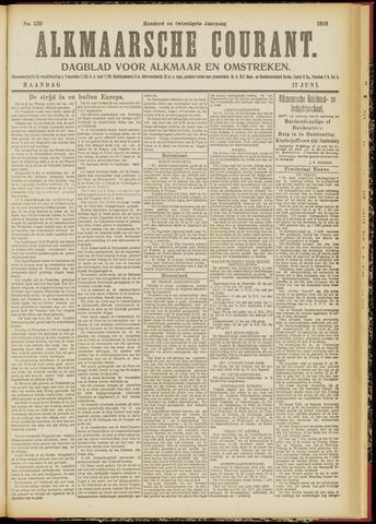 Alkmaarsche Courant 1918-06-17
