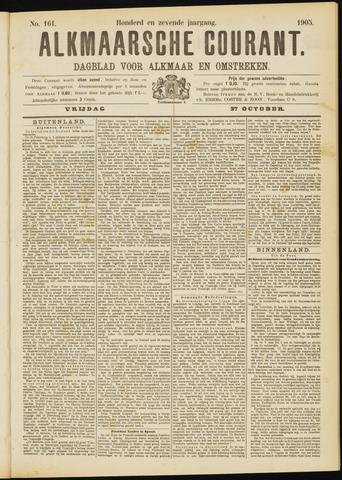Alkmaarsche Courant 1905-10-27
