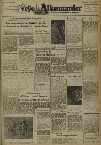 De Vrije Alkmaarder 1947-03-19