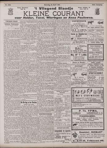 Vliegend blaadje : nieuws- en advertentiebode voor Den Helder 1904-04-23