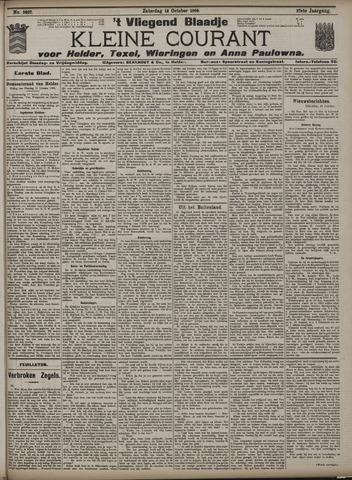 Vliegend blaadje : nieuws- en advertentiebode voor Den Helder 1909-10-16