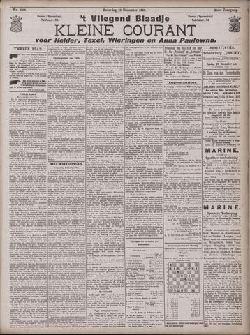 Vliegend blaadje : nieuws- en advertentiebode voor Den Helder 1903-12-19