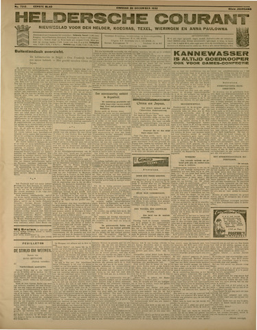 Heldersche Courant 1932-12-20